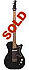 Silvertone Bass made by Danelectro model 1444 - U1 style - single pickup electric bass guitar