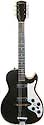 Silvertone 1420L - Harmony Stratotone - 2pickup hollow body electric guitar