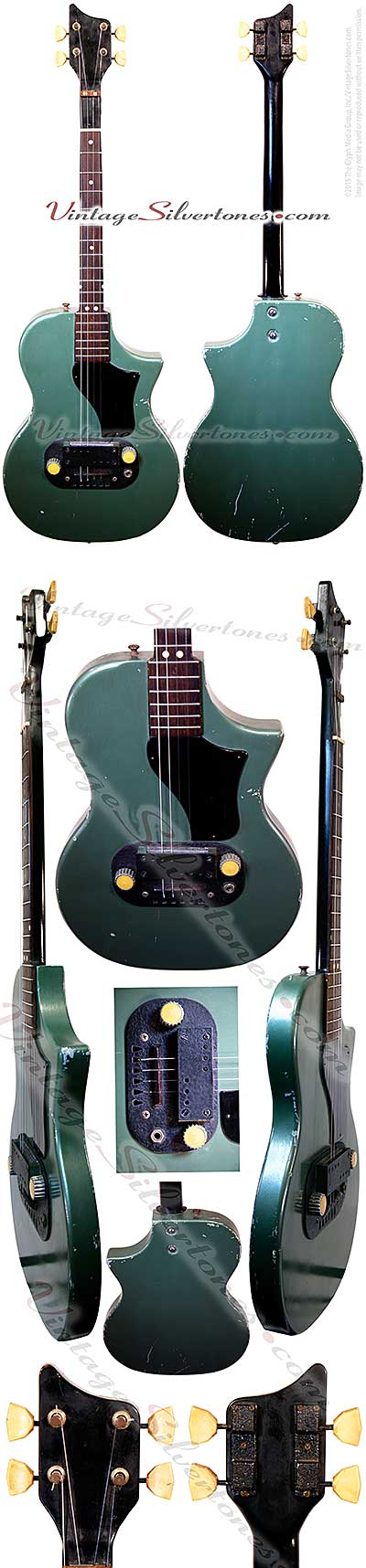 Supro tenor green-made in the USA